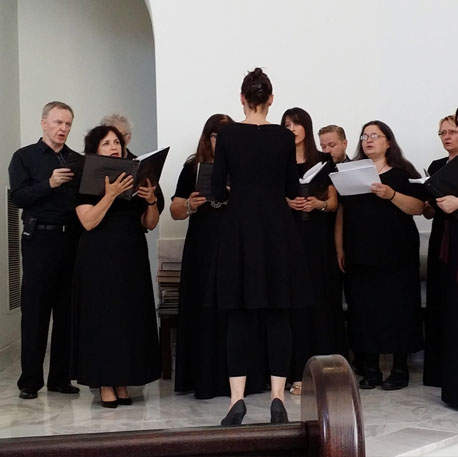Istochnik Choir at wedding in Irvine