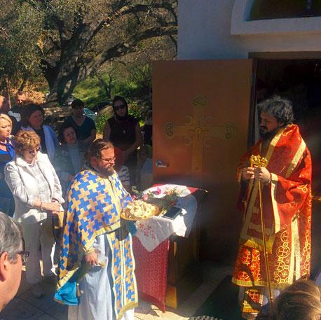 Slava Celebration Sretenje Monastery in Escondido